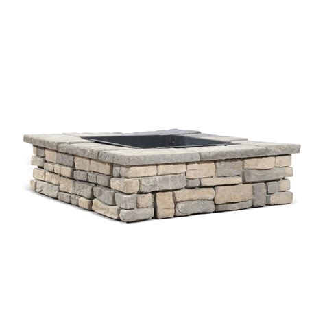 square fire pit kit outdoor goods