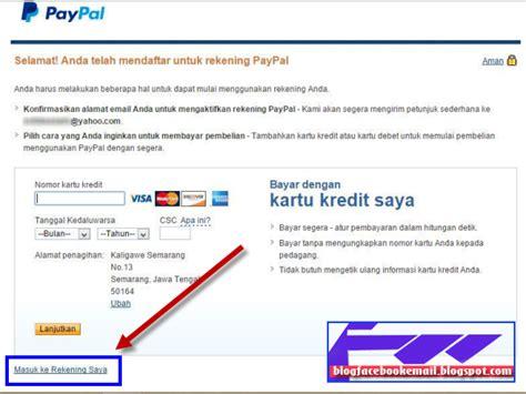 buat kartu kredit yang cepat cara saya daftar dan membuat paypal sai verified
