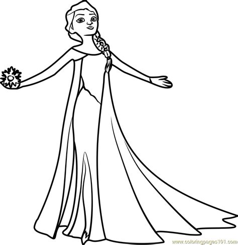 elsa pictures to color beautiful elsa coloring page free frozen coloring pages