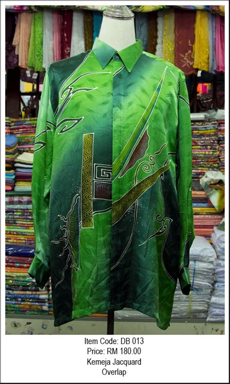 Kemeja Batik Cantik 02 kemeja jacquard my batik