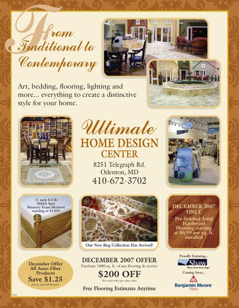 baltimore home improvement magazine ads by tinika fowlkes
