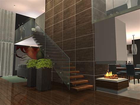 gruth modern stairs  ulmille liquid sims