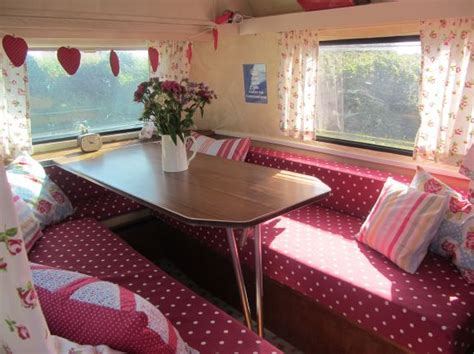 vintage caravans with retro interiors location partnership