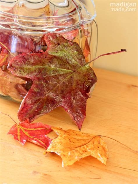 Decoupage With Leaves - 40 decoupage ideas for simple projects