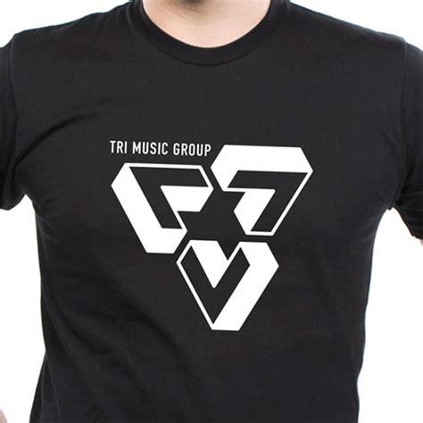 design a group shirt t shirt design mens womens tri music grouptri music