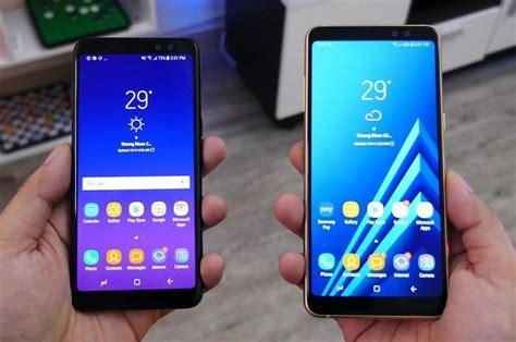 Samsung S8 Tahun 2018 spesifikasi samsung galaxy a8 2018 bedanya dengan a8