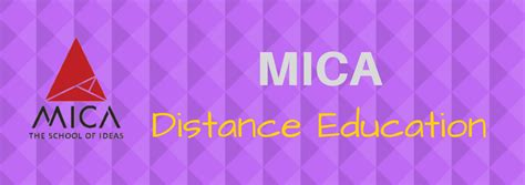 Mica Mba Eligibility by Mba Frog A On Distance Learning Mba India
