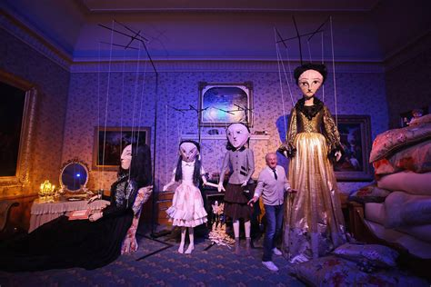 kensington palace the enchanted manor fashion installations are unveiled at the enchanted palace