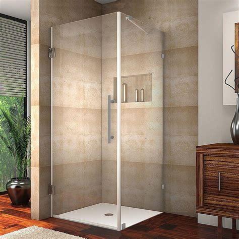 Square Shower Enclosure Aston Aquadica 32 In X 72 In Frameless Square Shower
