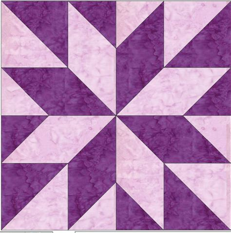 4 Inch Quilt Block Patterns by Lemonye 4 8 Pointed Paper Foundation
