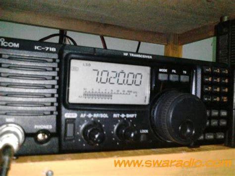 Icom Ic 718 Ori radio icom 718 dan power saple dakai 40a swaradio
