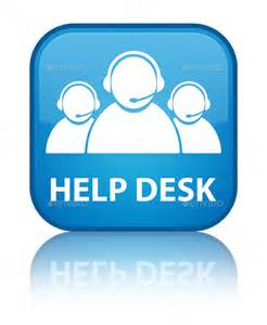 help desk customer care team icon cyan blue square