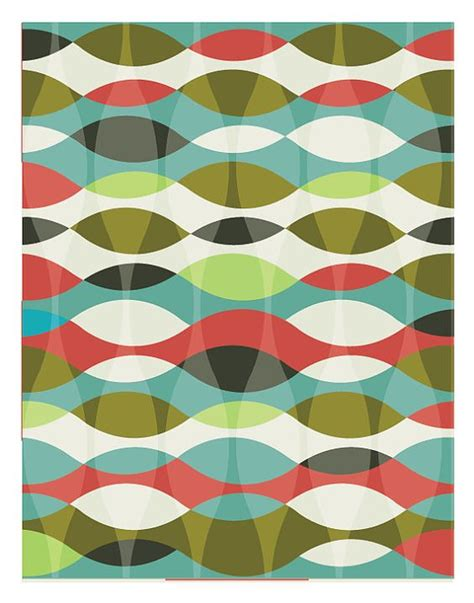 mid century geometric patterns abstract print poster mid century print poster retro print poster geometric print poster