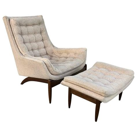 adrian pearsall chair for sale adrian pearsall high back lounge chair and ottoman at 1stdibs