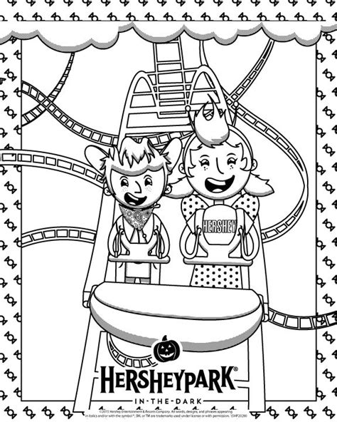 17 Best Images About Sweet Fun For Kids On Pinterest Hershey Coloring Page