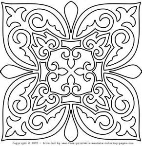 mandala colorir imprimir az dibujos colorear patterns mandalas