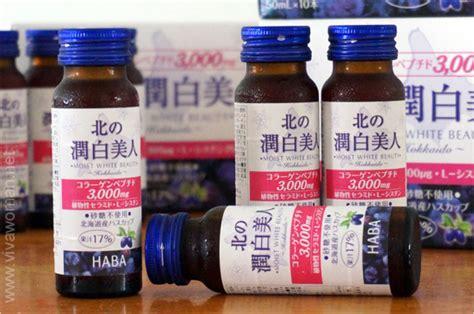 Laris Box Collagen Whitening Drink haba moist white collagen drink review