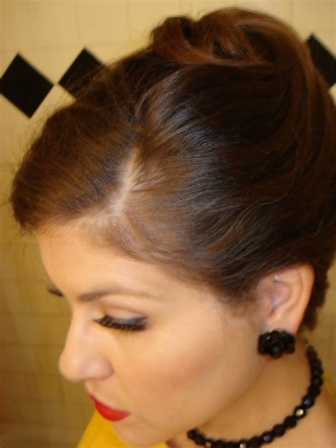 most popular sleek classic french twist with side bangs french twist updo hairstyles gallery of most popular