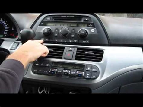 2007 honda odyssey aux input how to use gta car kit for honda odyssey 2005 2010 with