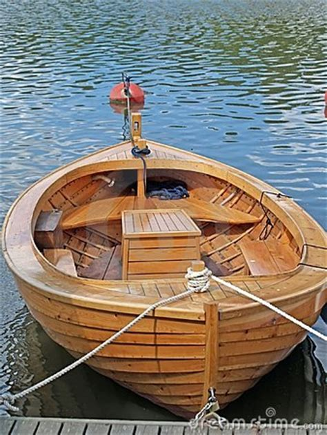 boat made of wood a boat made from wood with a bar stock image image 988161