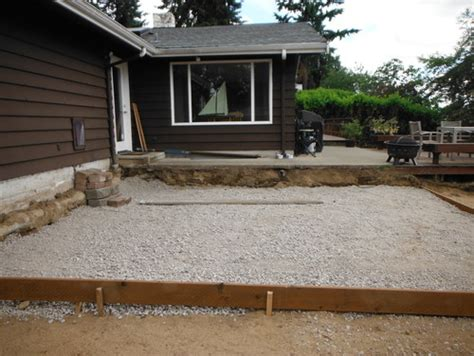 Deck To Patio Transition need to design transition from upper sidewalk deck to