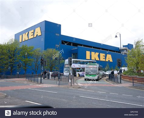 ikea stock ikea store ashton under lyne lancashire uk stock photo