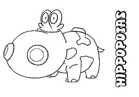 hippopotas coloring page hippopotas coloring pages hellokids com