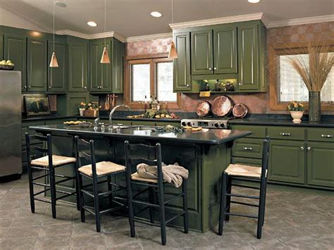 Dark Green Kitchen Cabinets | kitchen dark green cabinets for kitchen and dining table