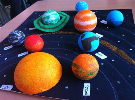 imagenes de maqueta de urano ies la ci 241 a maquetas del sistema solar 2012