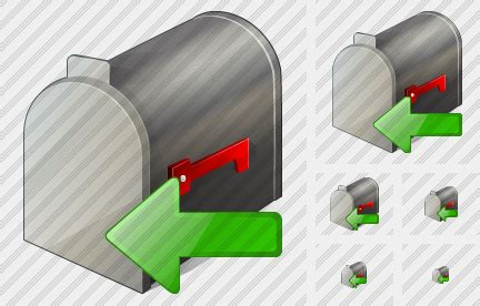 Profesional Impor Box mail box icon vista business professional stock icon and