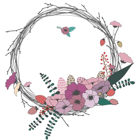 flowers wreath floral free image on pixabay free illustration flowers twig corolla wreath free
