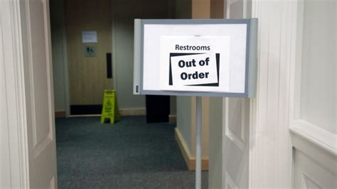 out of order bathroom out of order greece s parliament police banned from bathrooms ctv news