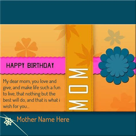 What To Write In A 4 Year Birthday Card Happy Birthday Card For Mom Gangcraft Net