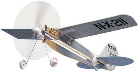 airplane rubber st spirit of st louis rubber powered flying airplane turner