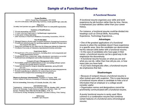 chrono functional resume sle 14 best administrative functional resume images on