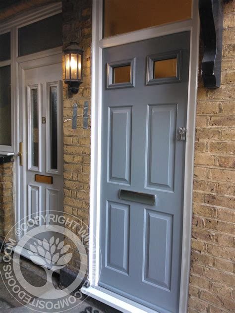 Solidor Front Doors Grey Solidor Tenby Composite Door Timber Composite Doors