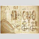 Leonardo Da Vinci Drawing Mechanical | 500 x 361 jpeg 95kB