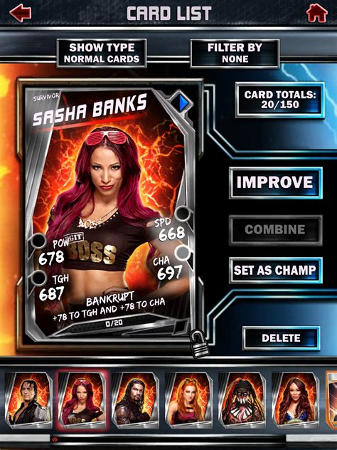 Super Gift Card - wwe supercard gets season 2 update with new cards and features toucharcade