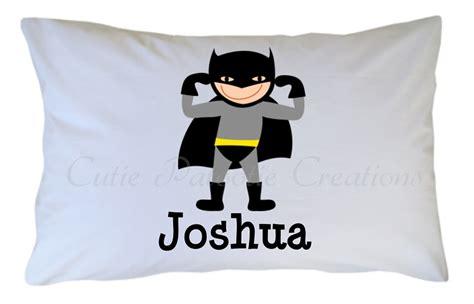 Batman Pillow Cases by Personalized Batman Pillow For Adults