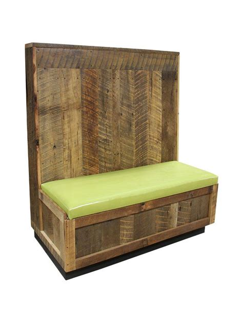 cafe bench seating for sale these booths are built using wood taken from barns in the