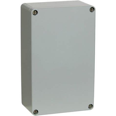As Aluminium 127 X 300 universal enclosure 127 x 81 x 56 5 aluminium silver grey ral from conrad