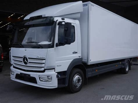 mercedes truck 2016 used mercedes benz atego 1523l box trucks year 2016 price