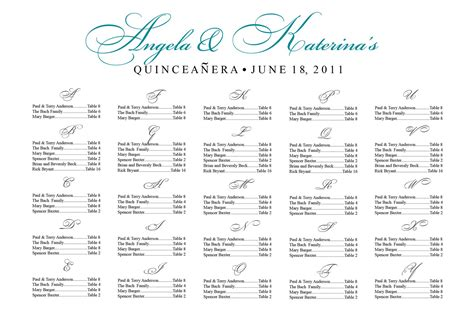 wedding seating chart template wedding seating chart template free