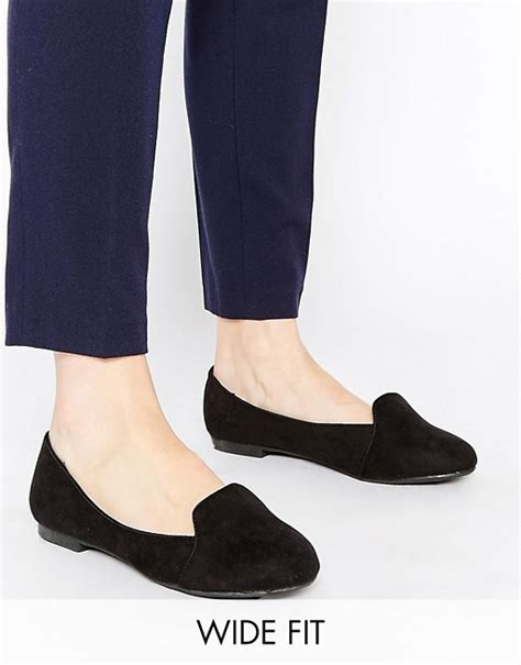 black flat shoes new look new look wide fit new look wide fit black flat slipper shoes