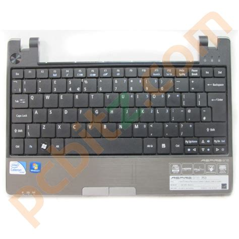 Keyboard Acer Aspire One Pro Acer Aspire One 753 Palmrest And Keyboard Ebay
