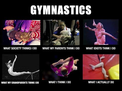 Gymnast Meme - gymnastics what i actually do gymnastics meme gymnastics