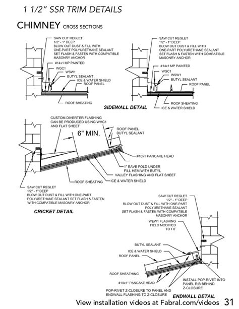 How To Install A Hip Roof Fabral Ssr Metal Roofing Installation Manual