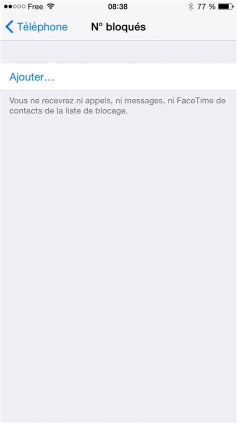 Comment bloquer un correspondant sur mon iPhone ? - Varcap