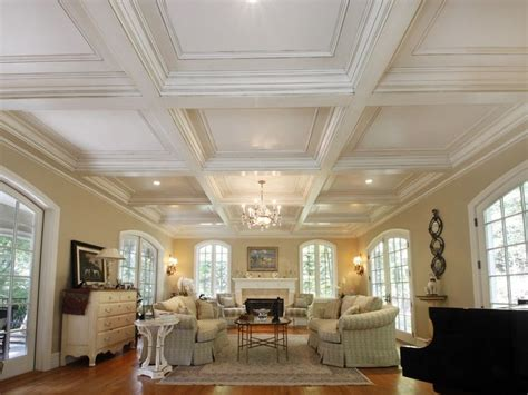 Prefab Coffered Ceiling Custom Made Coffered Ceiling System 1 By Fanatic Finish