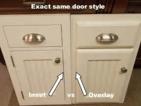 Inset Kitchen Cabinet Doors by Inset Kitchen Cabinets Beaded Inset Vs Plain Inset
